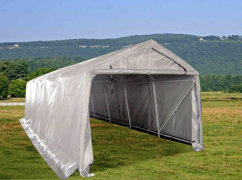 Portable Carport Fittings : Shelters portable garages tent sheds outdoor storage large