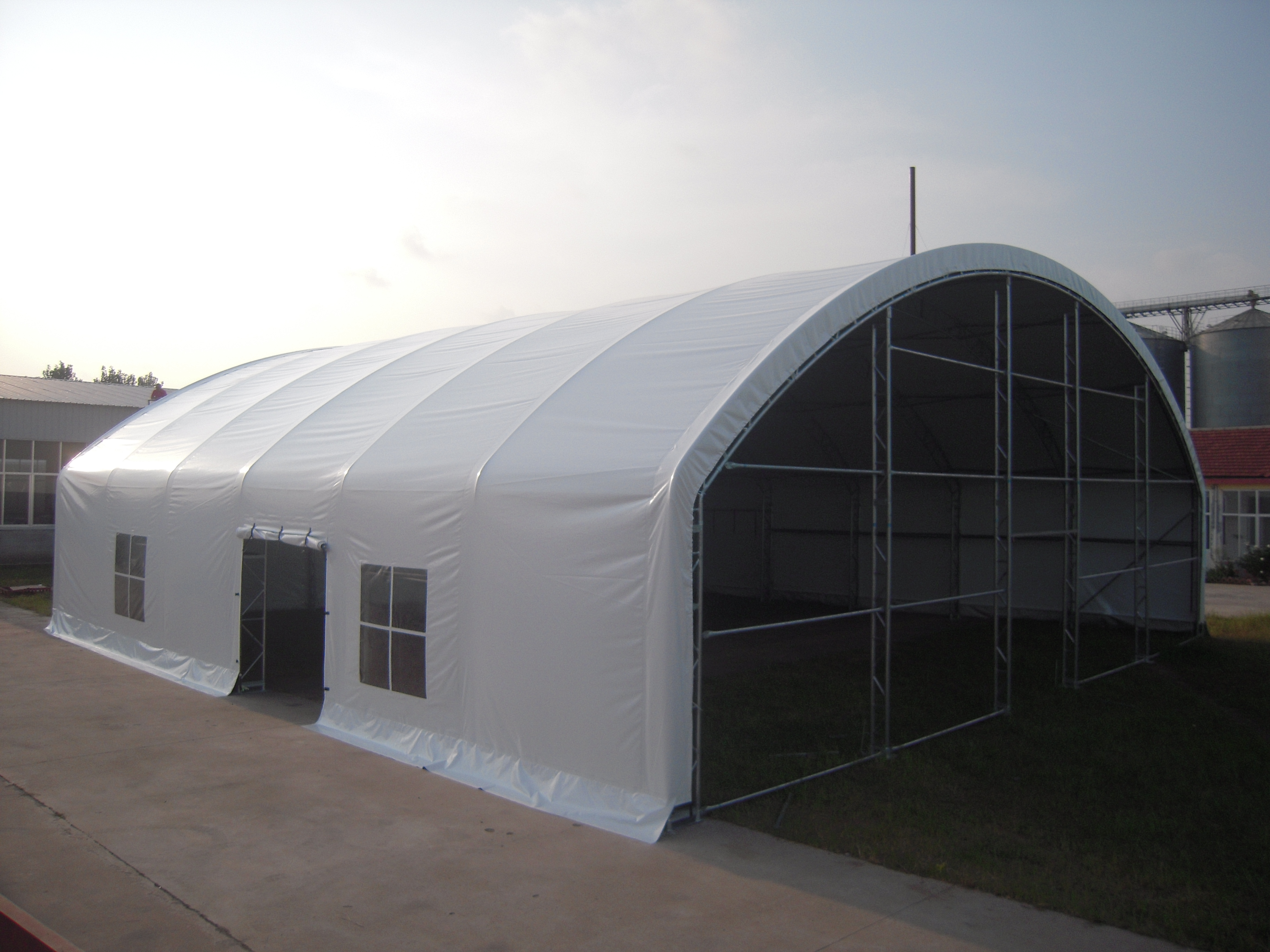 Metal Outdoor Shelters : Shelters portable garages tent sheds outdoor storage large