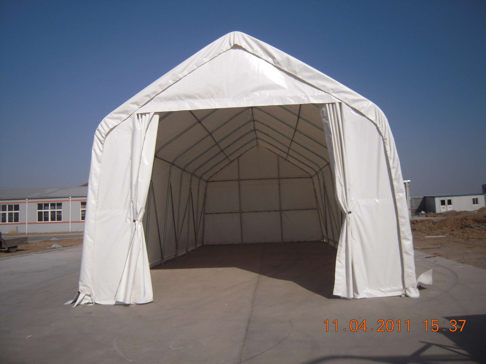 Portable Boat Shelters : Shelters portable garages tent sheds outdoor storage large