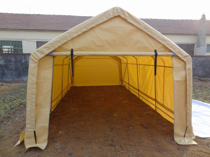 Outdoor Tent Garage : Shelters portable garages tent sheds outdoor storage large